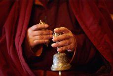 Cloche tibétaine et cloche rituelle