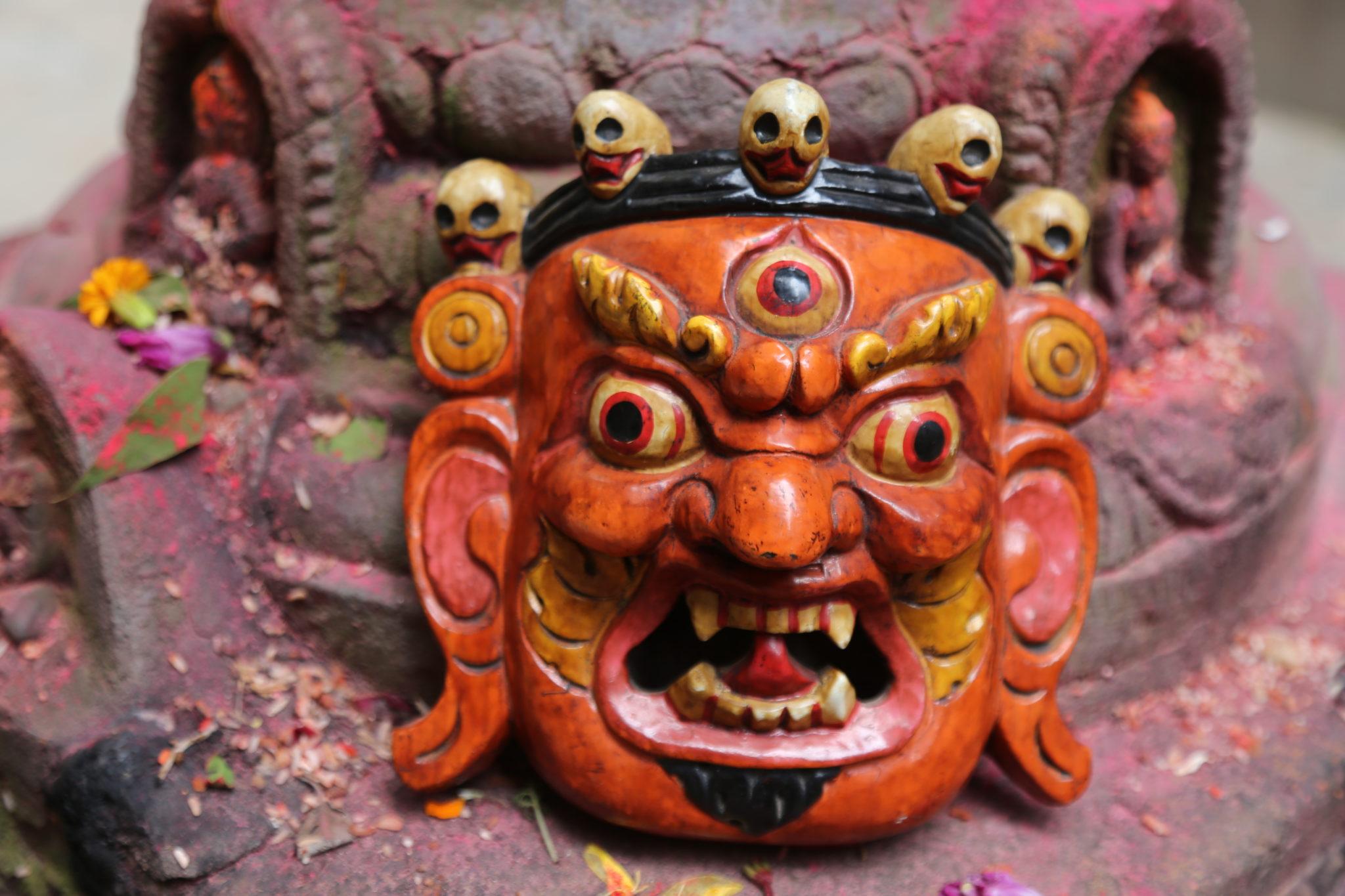 masque bhairava shiva achat mes indes galantes paris