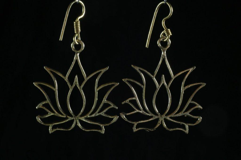 Lotus  Mes Indes Galantes Boucles d'oreilles