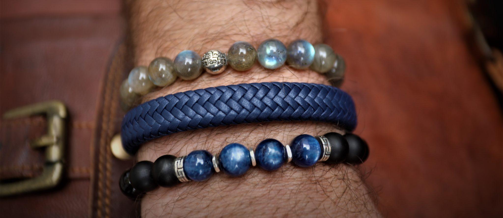 bracelet homme labradorite  mes indes galantes Paris