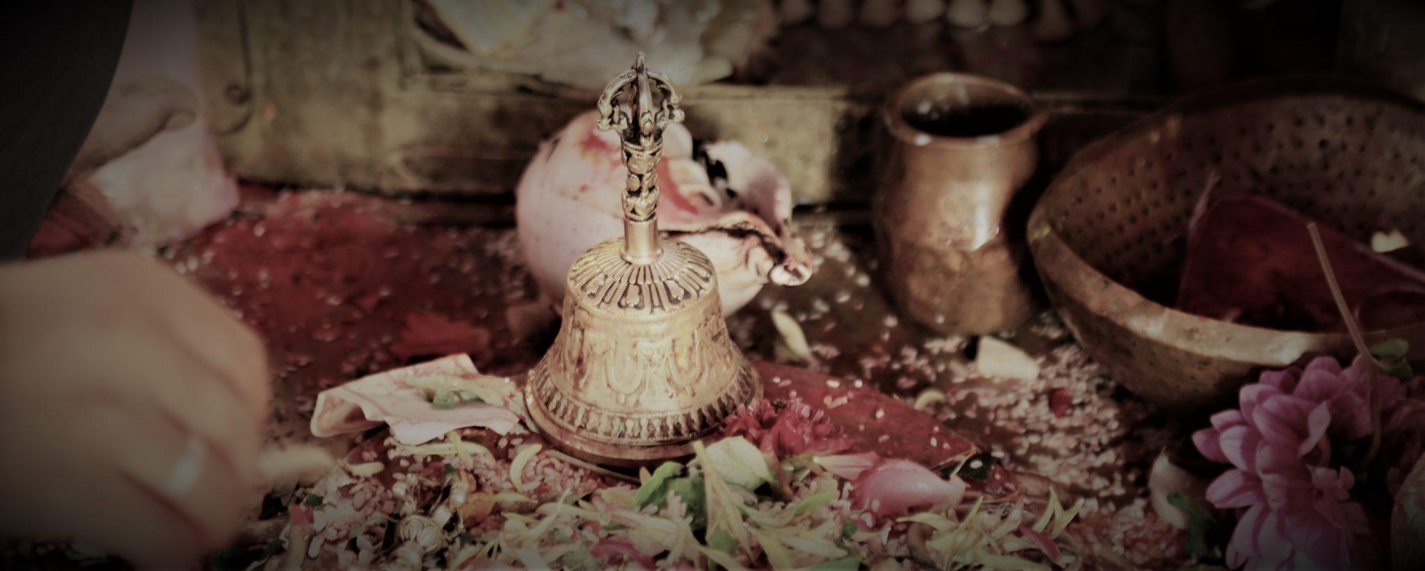cloche tibétaine rituel