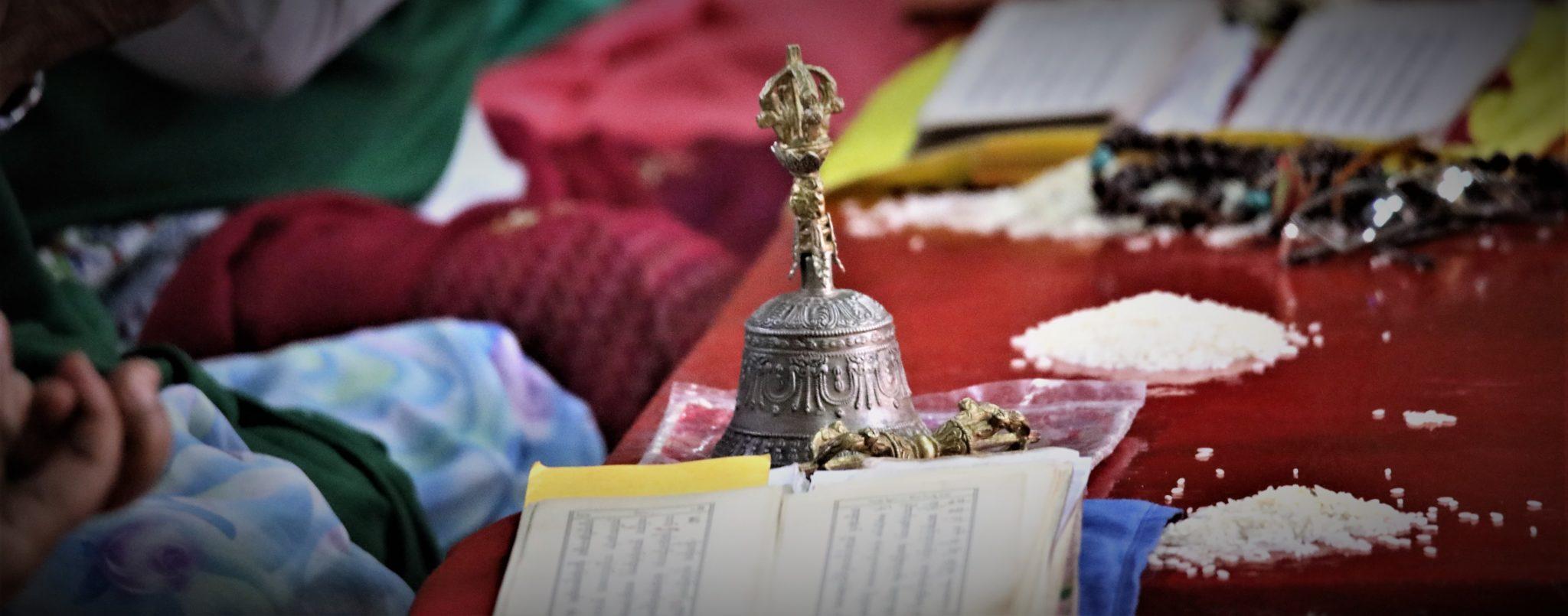 cloche Tibet rituel