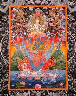 Hariharihari Vahana Lokeshvara protecteur Avalokitesvara