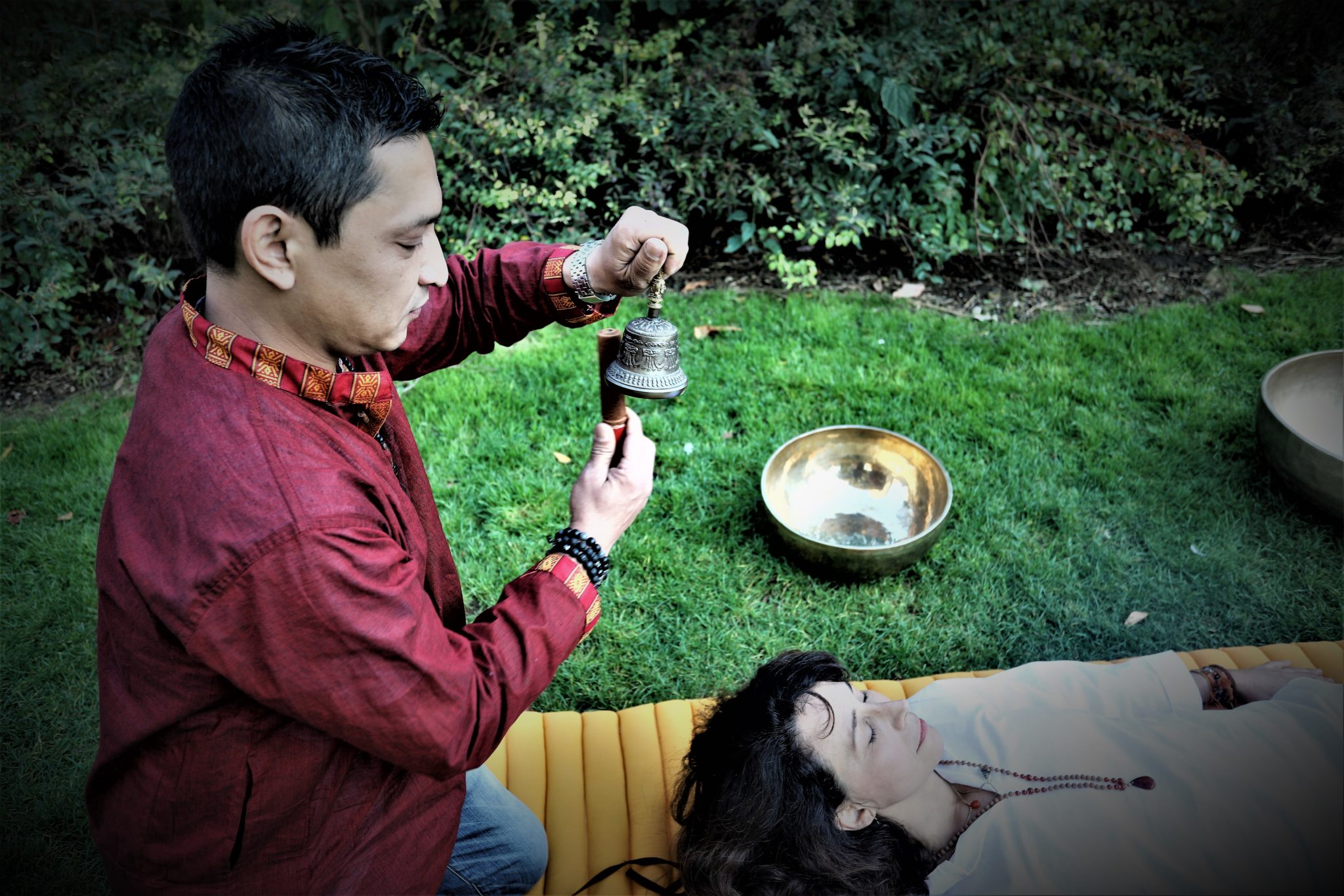 Sonothérapie cloche thérapie sonore