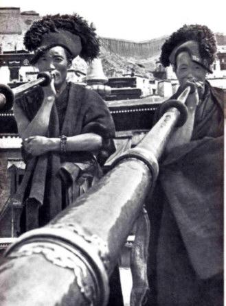 trompette tibétaine