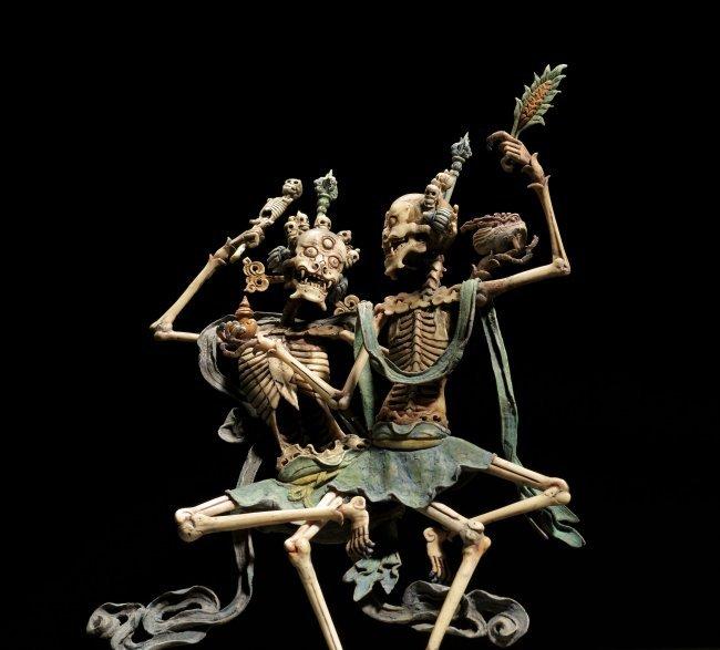 Citipati - protecteurs - squelettes