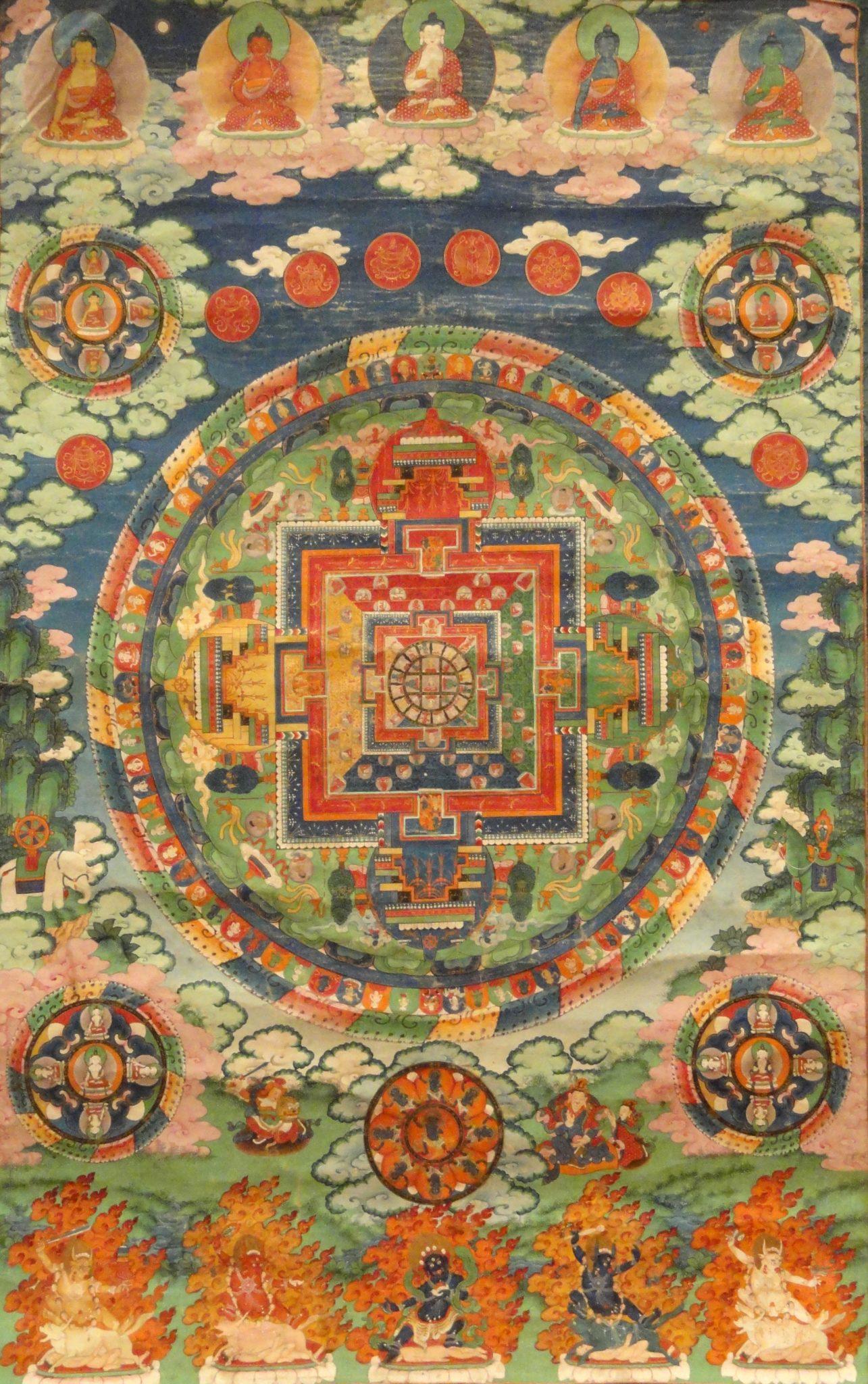 Jina - Mandala - Dhyani Bouddha