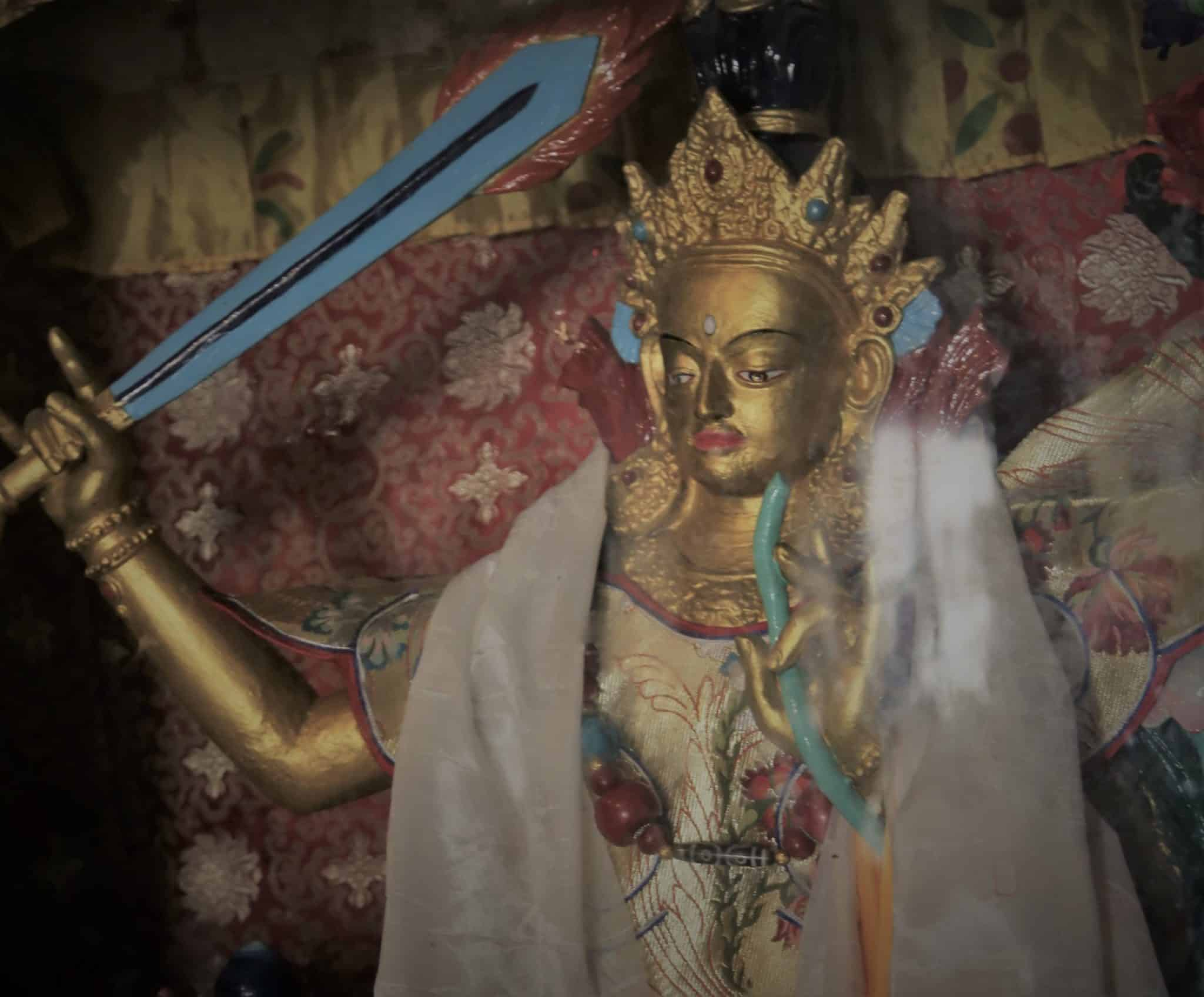 statue Manjusri Swayambhu