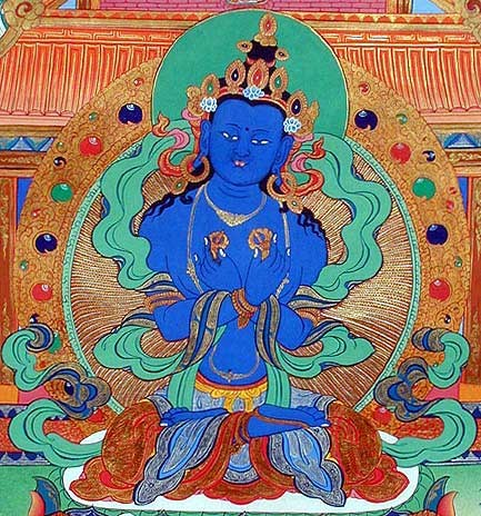 Vajradhara - Mes Indes Galantes Blog
