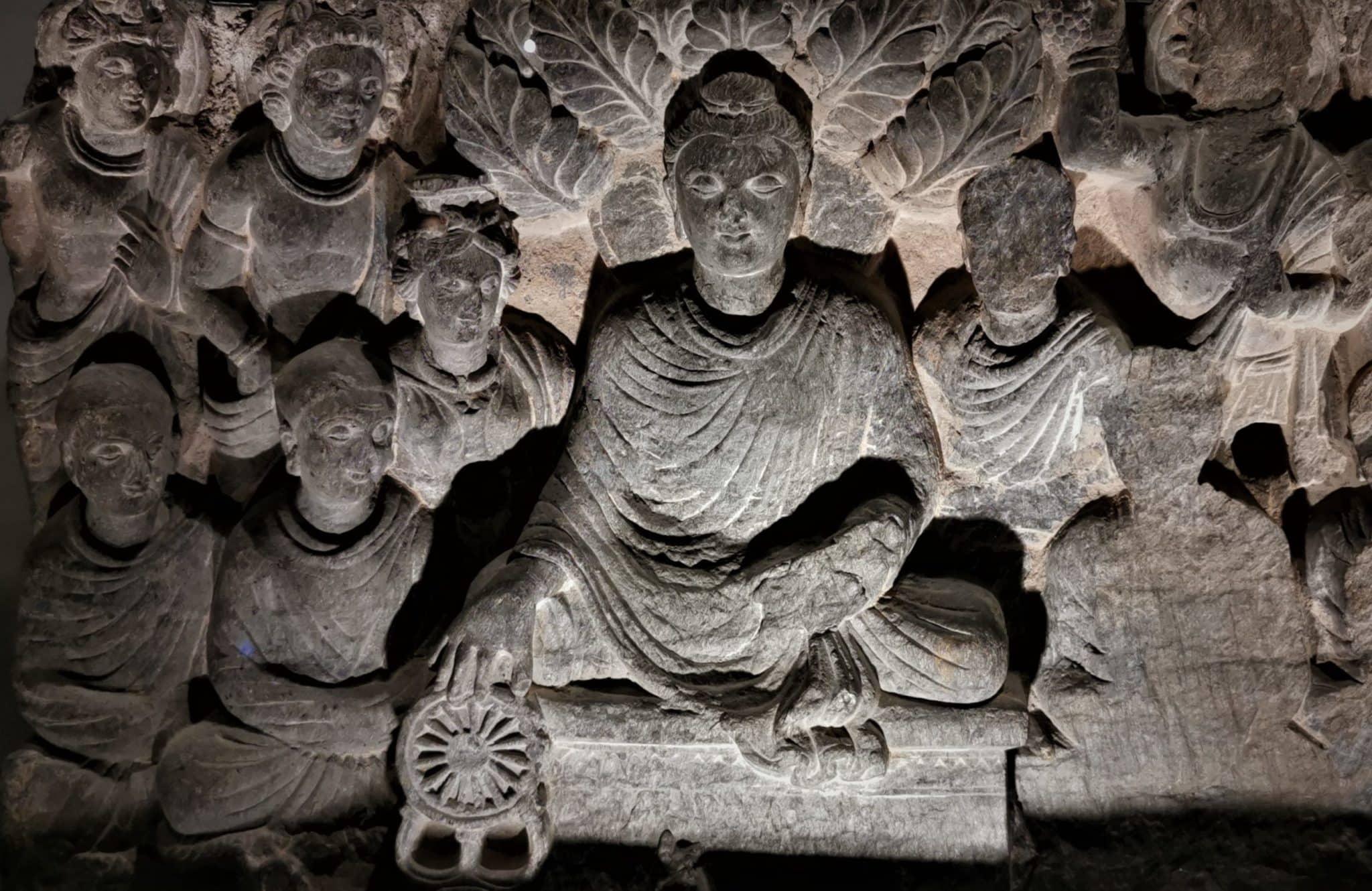 roue de la loi Bouddha