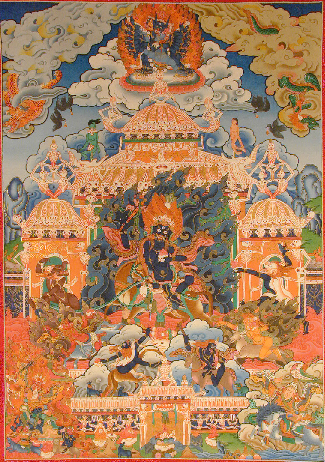 Lha Mo-Dharmapalas-tibet-yidam