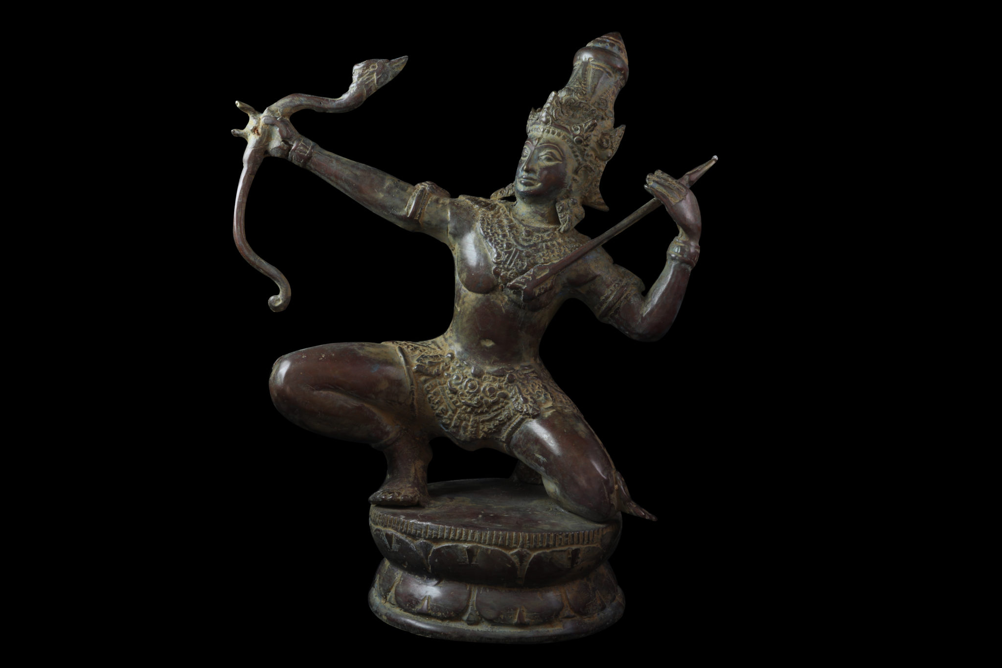 statue rama arc flèche achat mes indes galantes