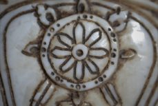 Chakra, la roue (Ashtamangala)