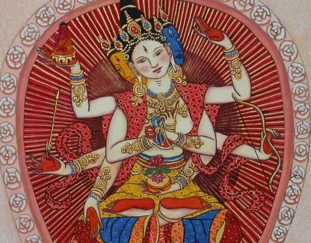 ushnishavijaya flêche