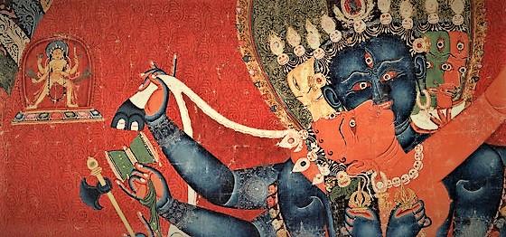 Chakrasamvara  damaru