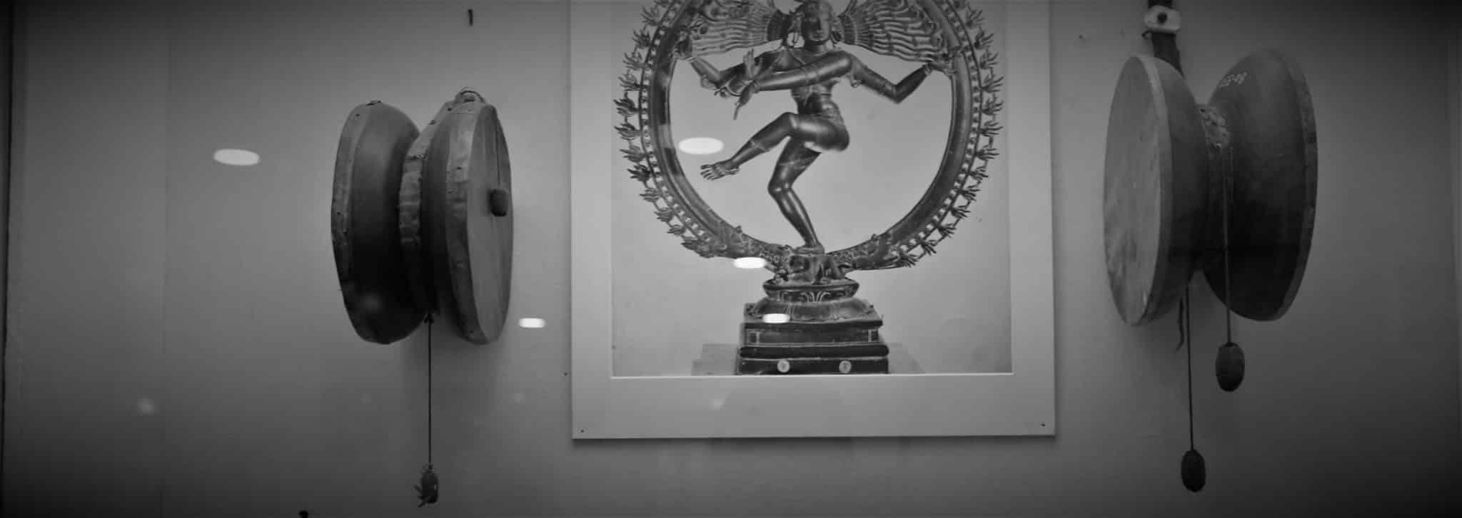 Damaru Tambour Shiva Musée Delhi