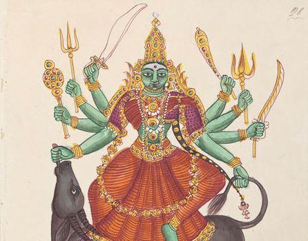 Durga - mahishasuramardini - khadga