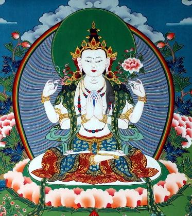 Sadaksari Avalokiteshvara achat paris