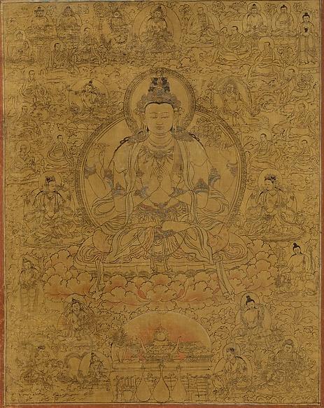 tangka thangka Avalokiteshvara