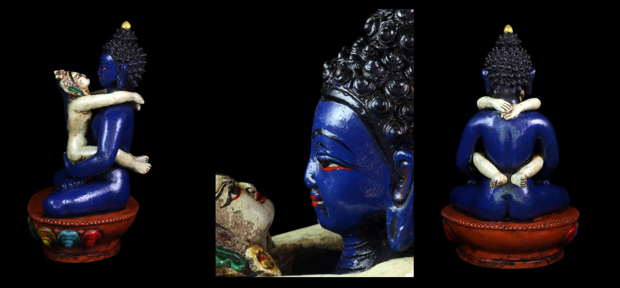 statue Samantabhadra bouddha amour