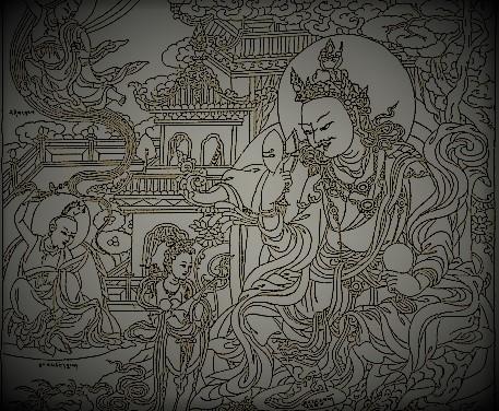 damaru guru rimpoche