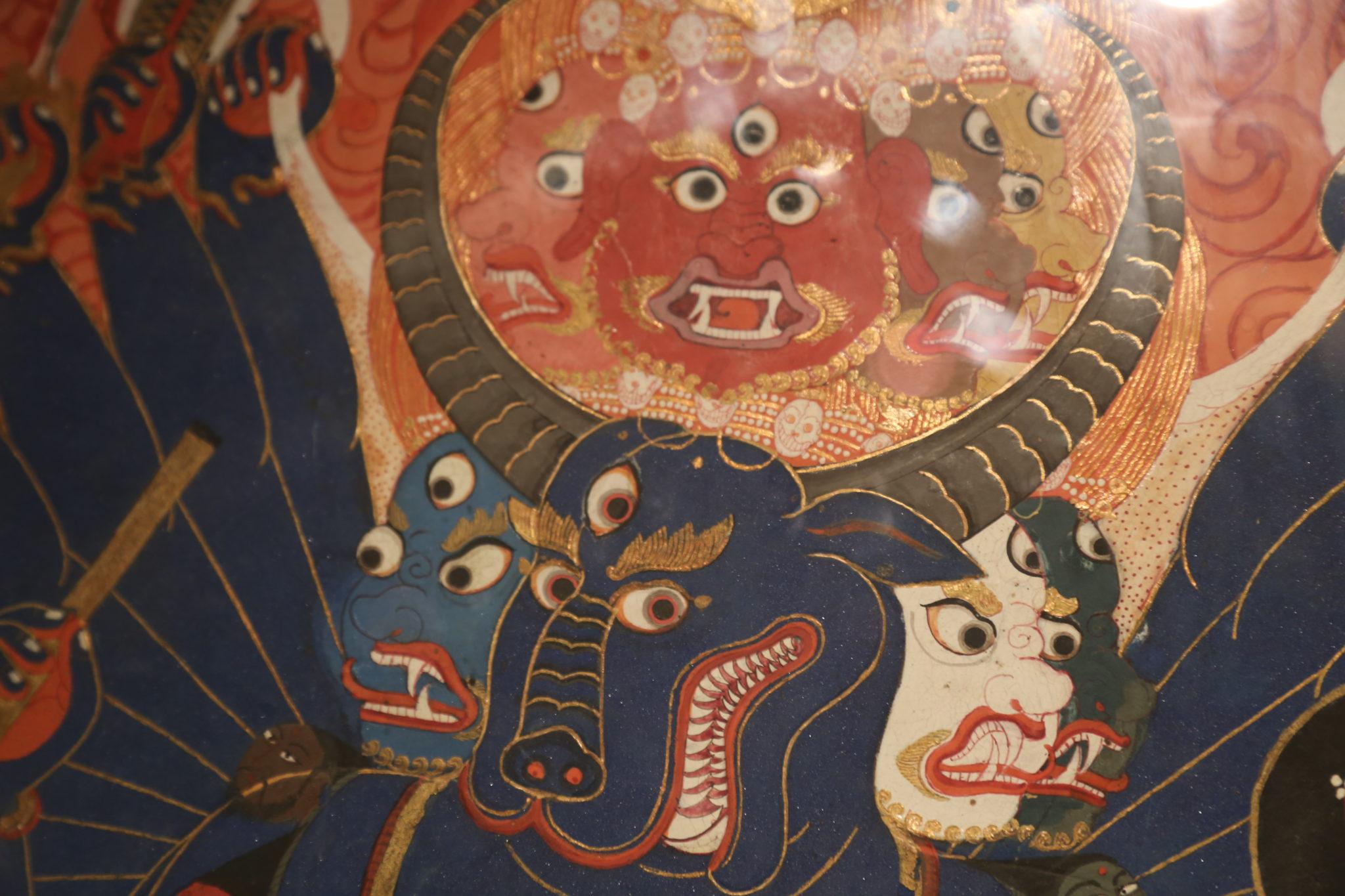 yama tibet peinture