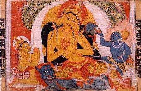 manuscrit bouddhiste