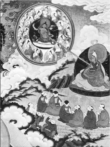 Tsongkhapa - Mes Indes Galantes - Manjusri