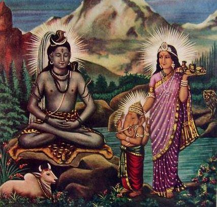 Shiva  Parvati  Ganesh