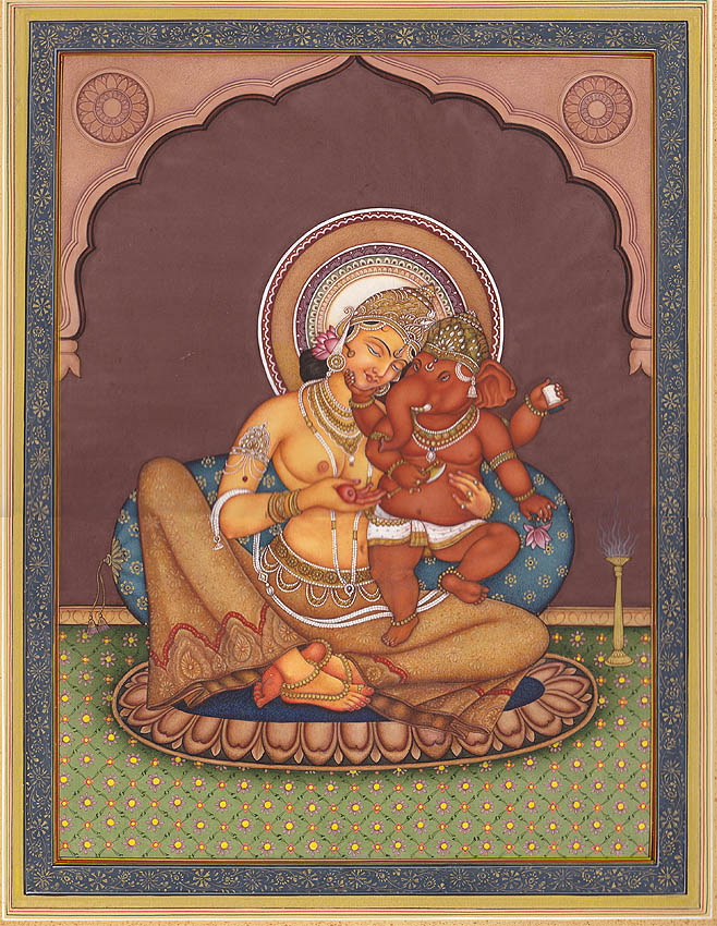 Parvati - Mes Indes Galantes Blog - Statues
