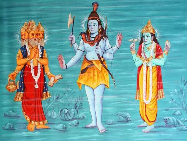 Rudraksha trois faces trimuti