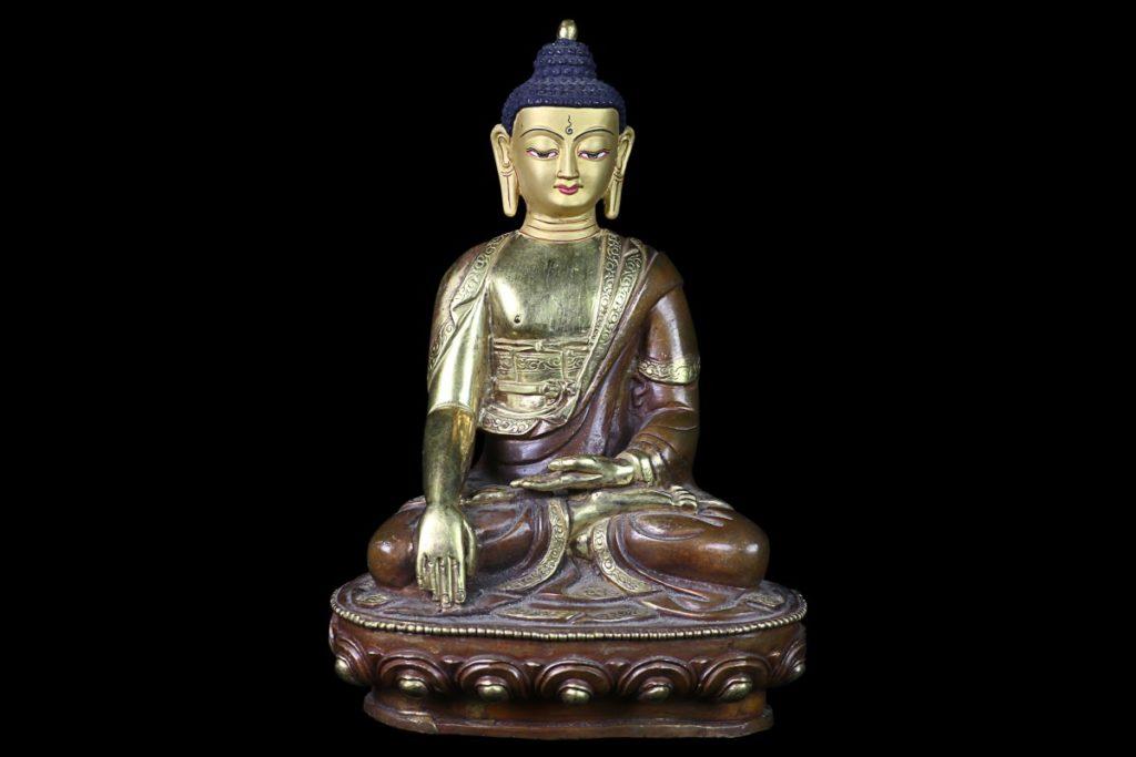 Bouddha - Bhumisparsa Mudra - Mes Indes Galantes