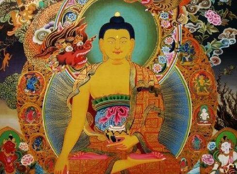 bouddha mara tibet