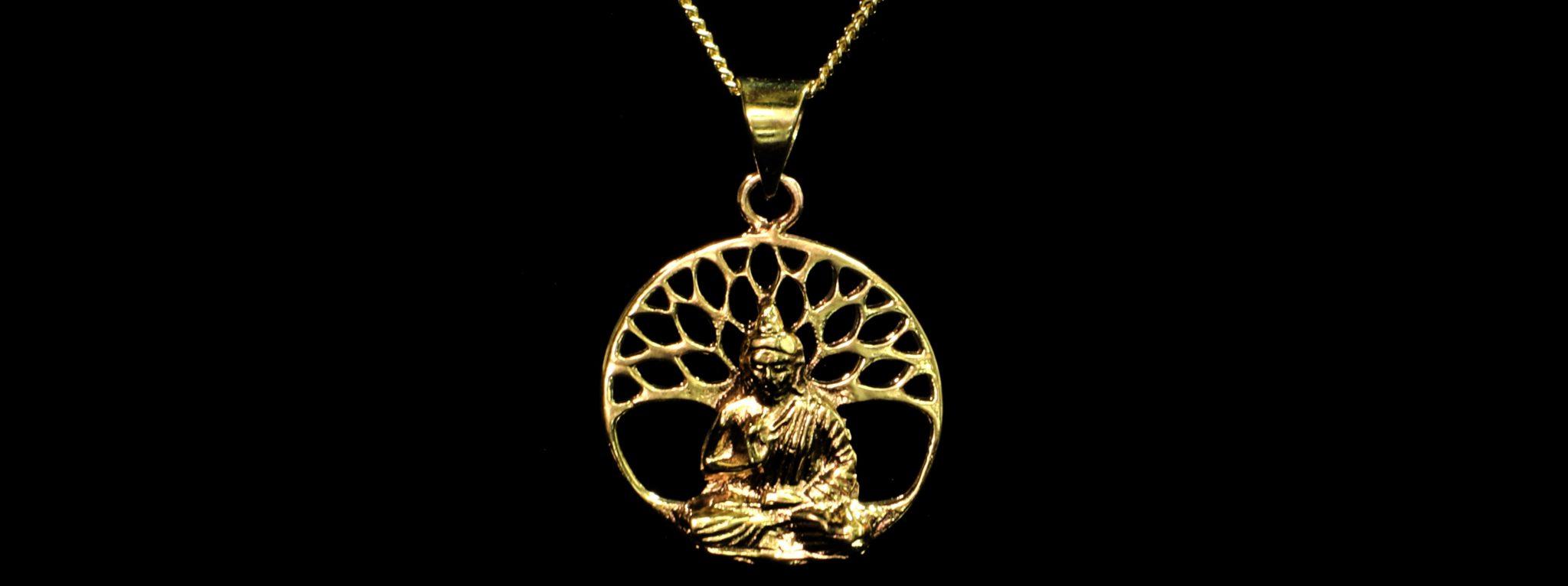 pendentif arbre de vie bouddha paris MES INDES GALANTES