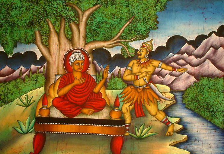 bouddha mara
