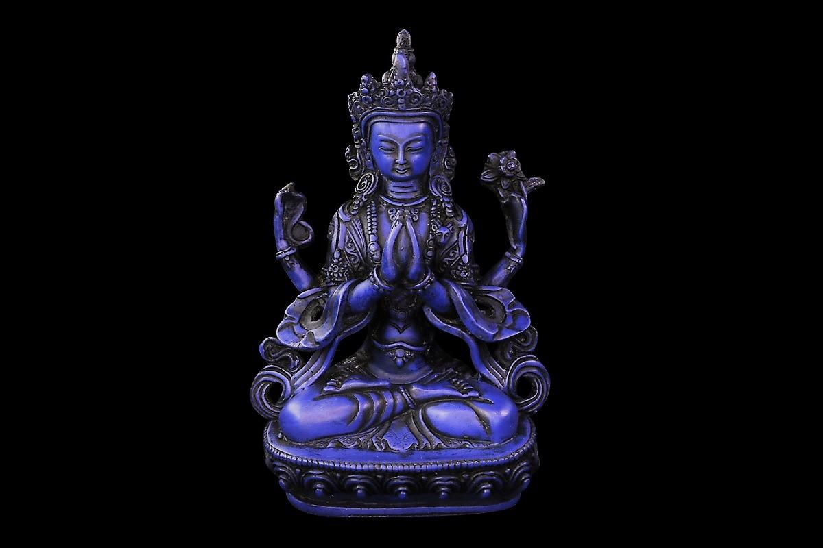 Chenrezig  Tchenrézi Avalokiteshvara om mani padmi hum achat paris