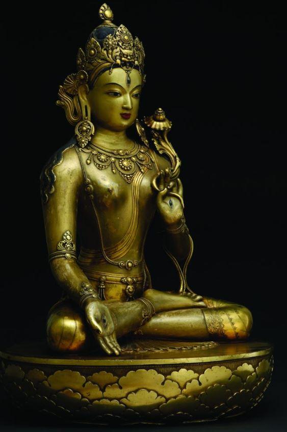 statue tara blanche musée
