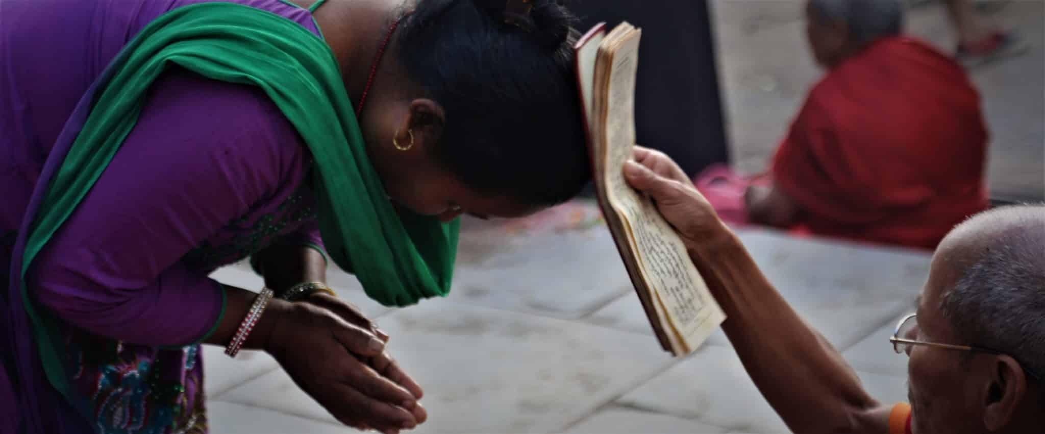 manuscrit bénédiction