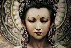 Guanyin ou Kuan Yin,  la déesse chinoise de la Miséricorde