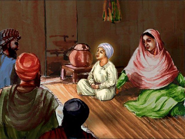 Guru Nanak enfant - Mes Indes Galantes Blog - Sikhisme