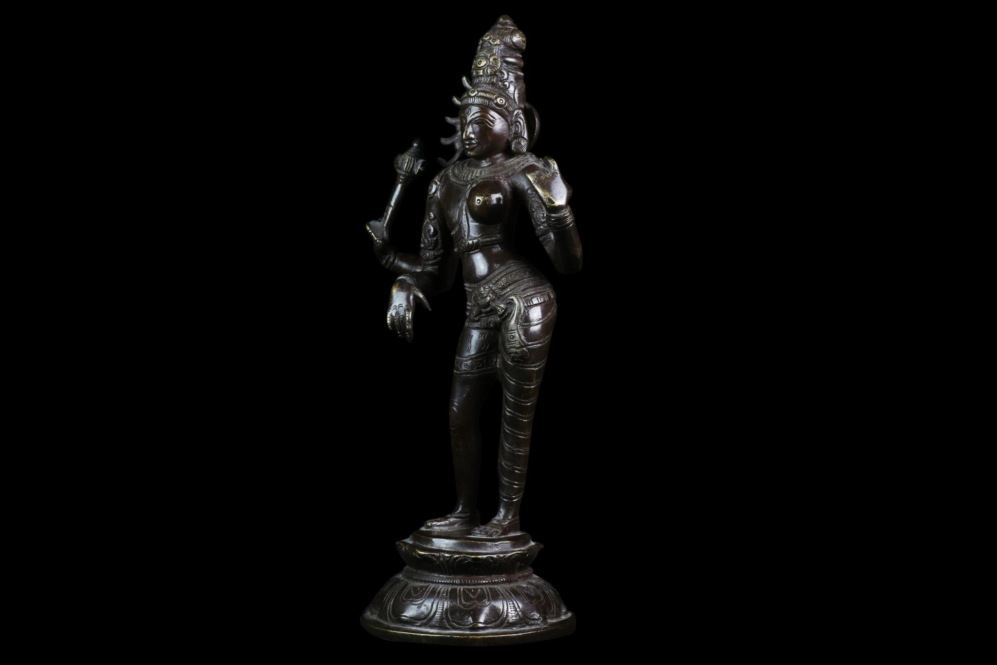 statue Ardhanari