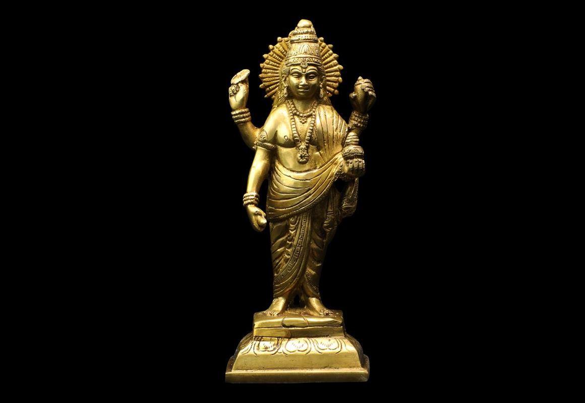dhanvantari statue paris MES INDES GALANTES