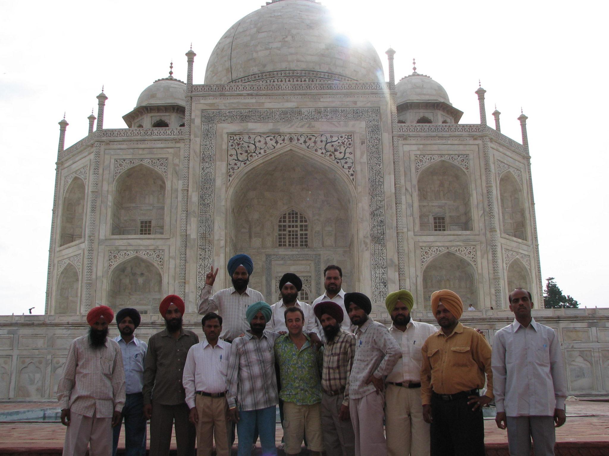 Taj Mahal Shah Jahan Moghol Mausolée Mes Indes Galantes