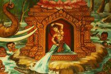 Phra Mae Thorani Amulette Thai de Fertilité