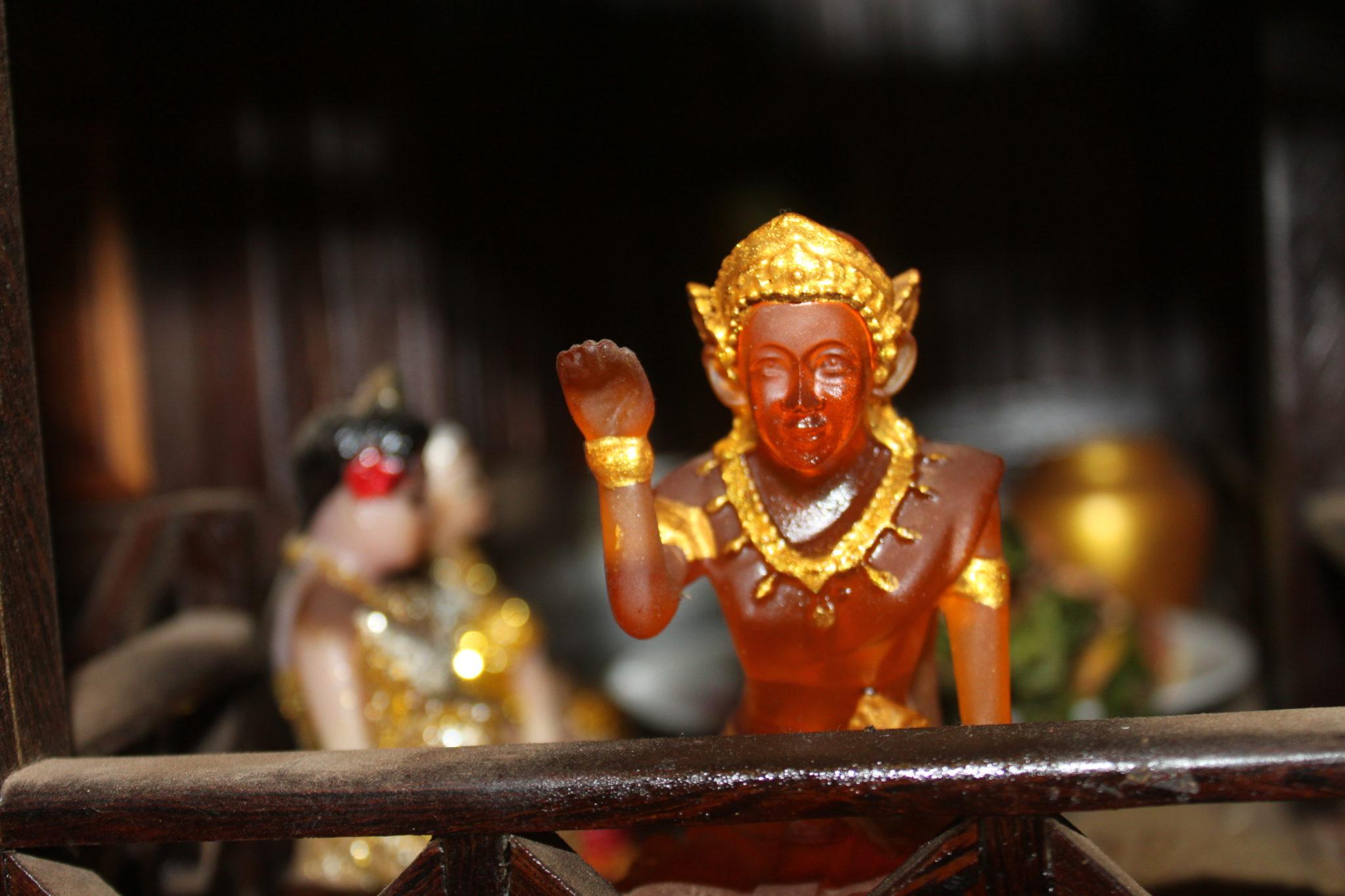 amulette laos nang kwak argent fortune