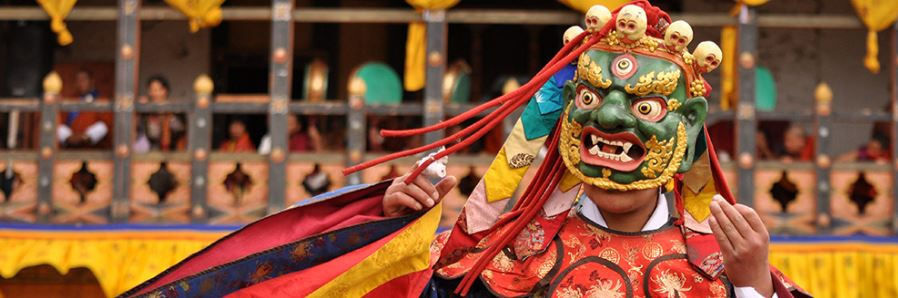 masque bhoutan