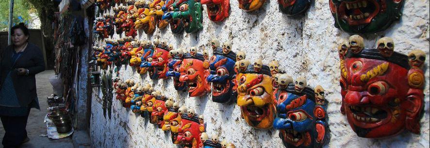 masque tibet mahakala
