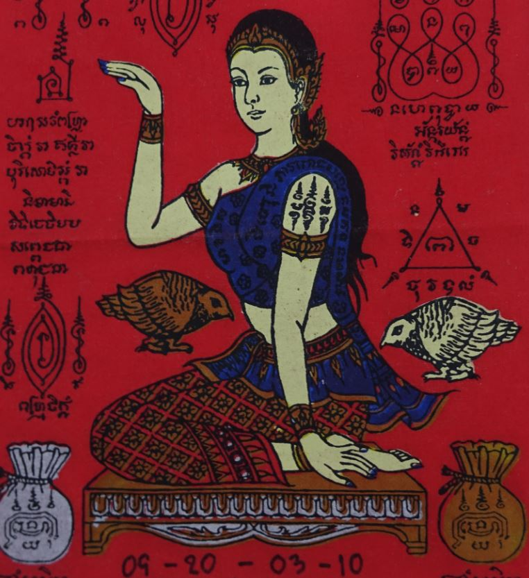 amulette thai Nang Kwak achat paris