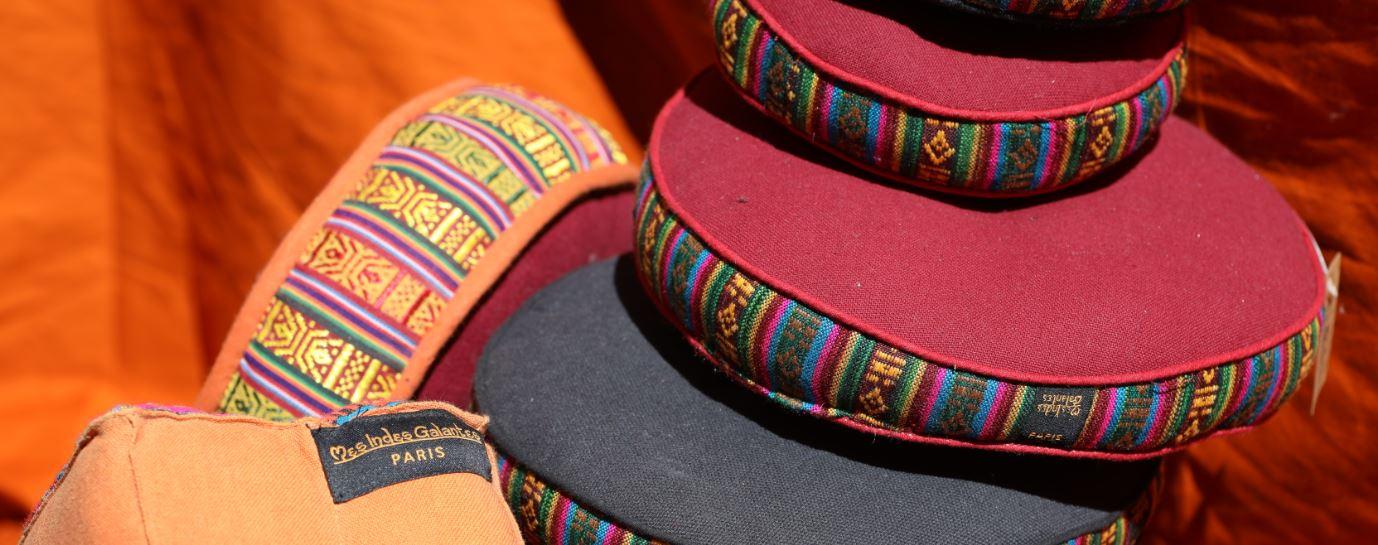 coussin bol tibétain