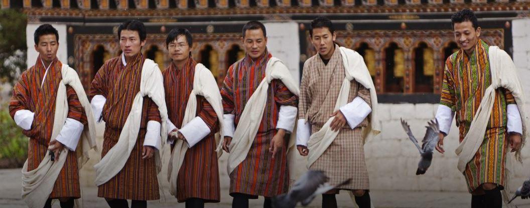tissus bouddhiste